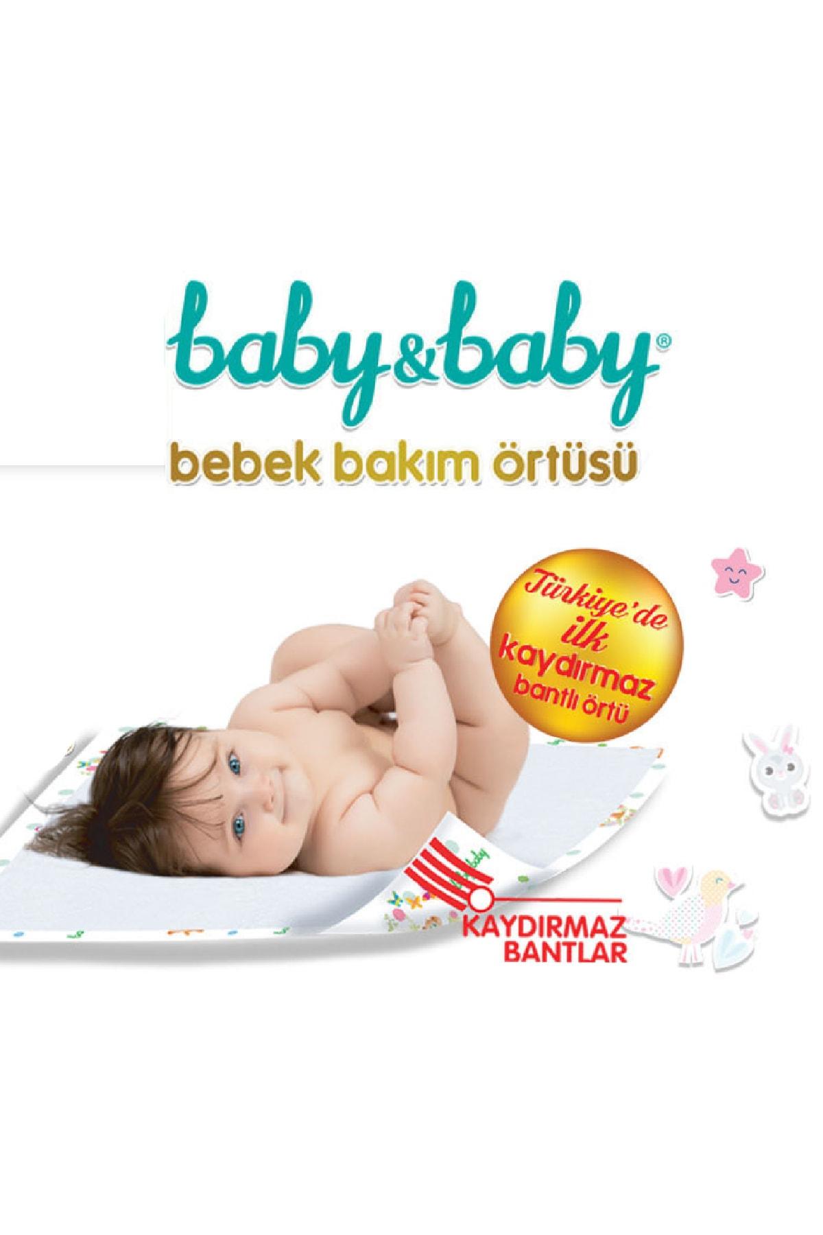 Baby&Baby Baby & Baby Bebek Bakım Örtüsü Alt Açma Bezi 30'lu Paket 2