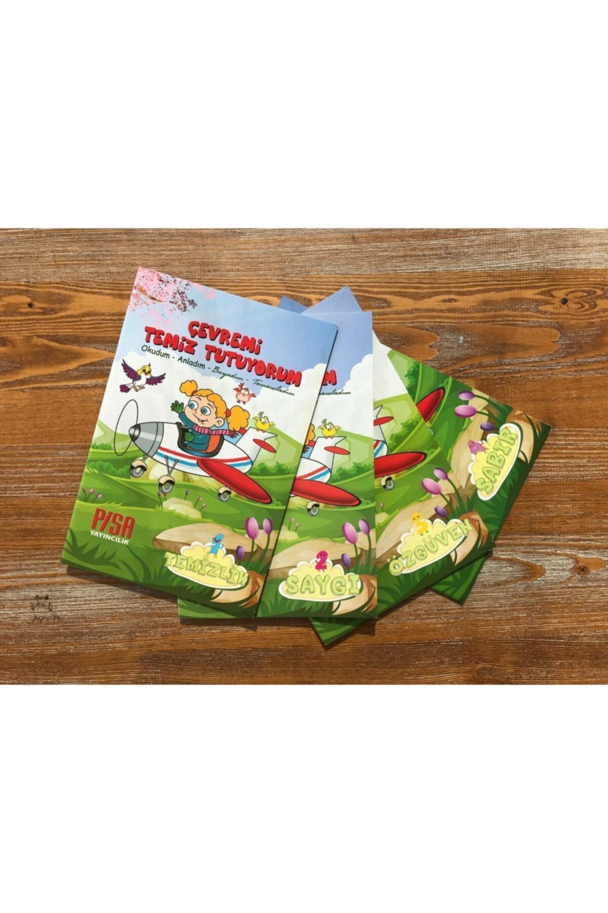 Harika Çocuk Yayınları 4 - 7 Yaş Boyamalı Değerler Eğitimi Hikaye Seti 4 Kitap 2