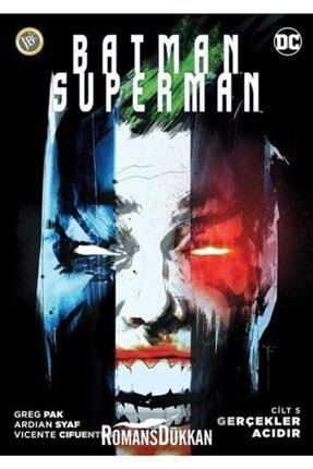 Jbc Yayıncılık Batman-süperman Cilt 5-gerçekler Acıdır