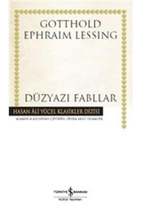 İş Bankası Kültür Yayınları Düzyazı Fabllar Hasan Ali Yücel Klasikler Dizisi Ciltli