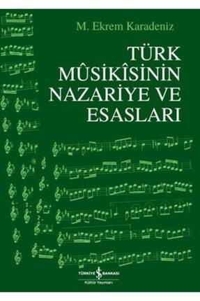 İş Bankası Kültür Yayınları Türk Musikısinin Nazariye Ve Esasları