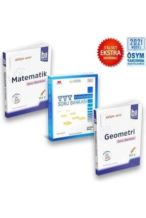 Birey Yayınları Birey Gelişim Serisi B Matematk Geometri Üçdörtbeş Tyt Matematik Soru Bankası 3 Lü Set