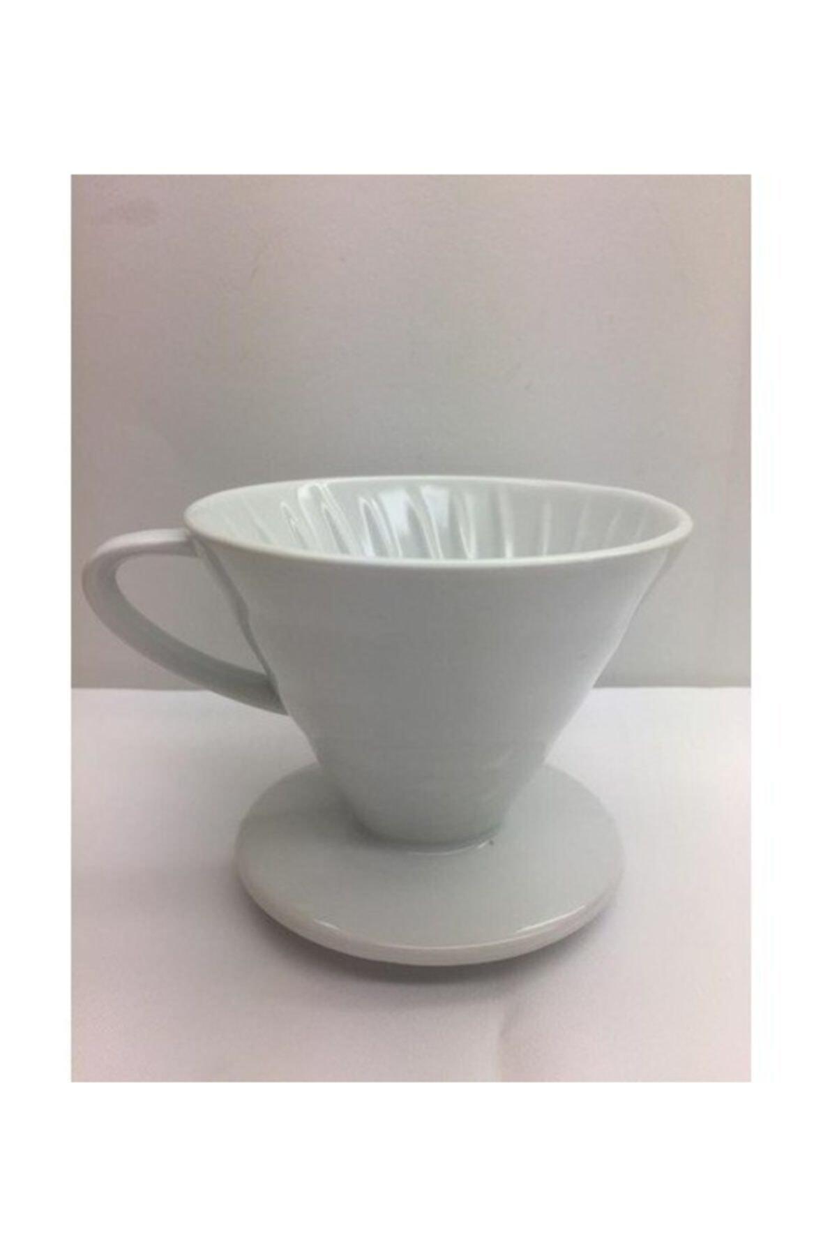 Kütahya Porselen V60 Damlama Filtre Kahve Fincanı 1