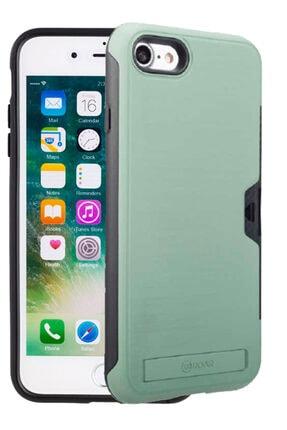 Apple Iphone Se 2020 Kılıf Roar Sert Silikon Kartlıklı Standlı Roaw