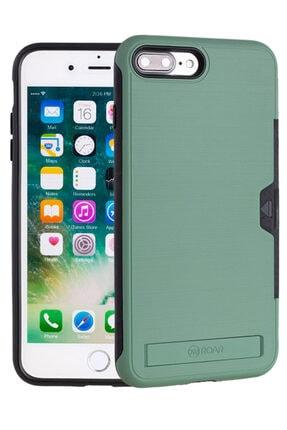 Apple Iphone 7 Plus Kılıf Roar Sert Silikon Kartlıklı Standlı Roaw