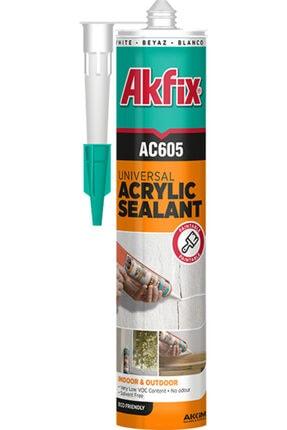 Akfix Ac605 Boyanabilir Akrilik Mastik 500 Gr Beyaz