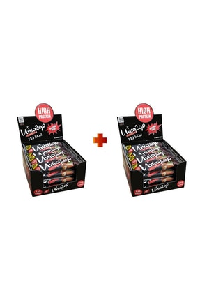 Uniq2Go Power Midi 16lı Kutu 2x Kutu %100 Naturel Badem Parçacıklı Proteinli Bar Kutu Içi Adet 38gr.