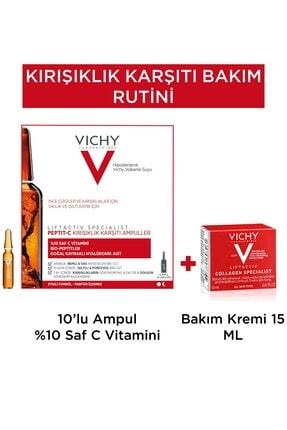 Vichy Kırışıklık Karşıtı Bakım Rutini 1 Nemlendirici Hediye  8681689318130