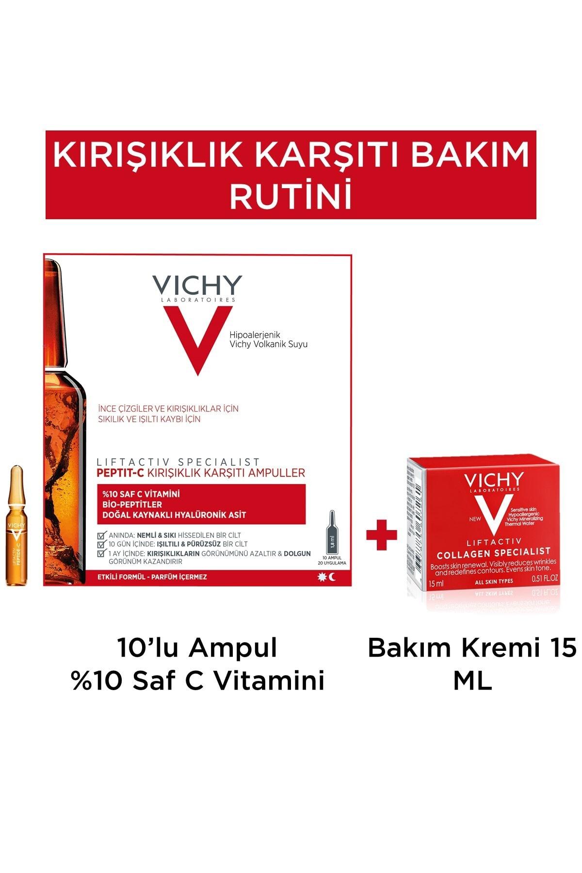 Vichy Kırışıklık Karşıtı Bakım Rutini 1 Nemlendirici Hediye  8681689318130 1