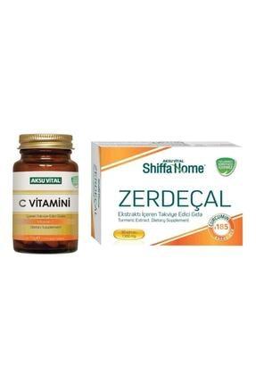 Aksu Vital C Vitamini 1250 Mg 60 Tablet & Zerdeçal 1300 Mg 30 Kapsül