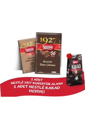 Nestle Kuvertür Çikolata 2,5 kg Paketi + Hediye Kakao