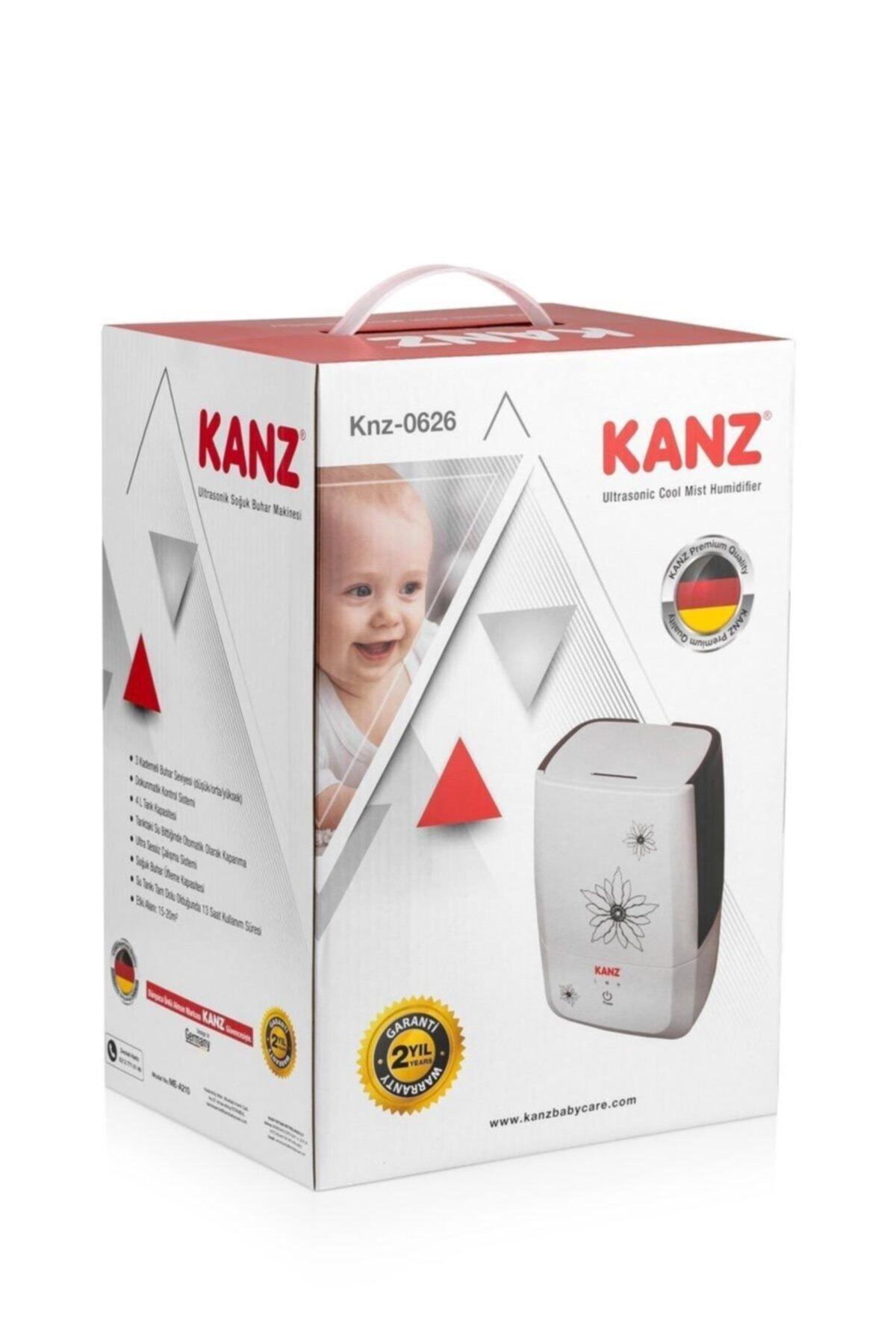 Kanz Kz-0626 Ultrasonik Hava Nemlendirici Buhar Makinesi 2