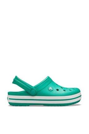 Crocs Kadın Yeşil Beyaz  Crocband Terlik