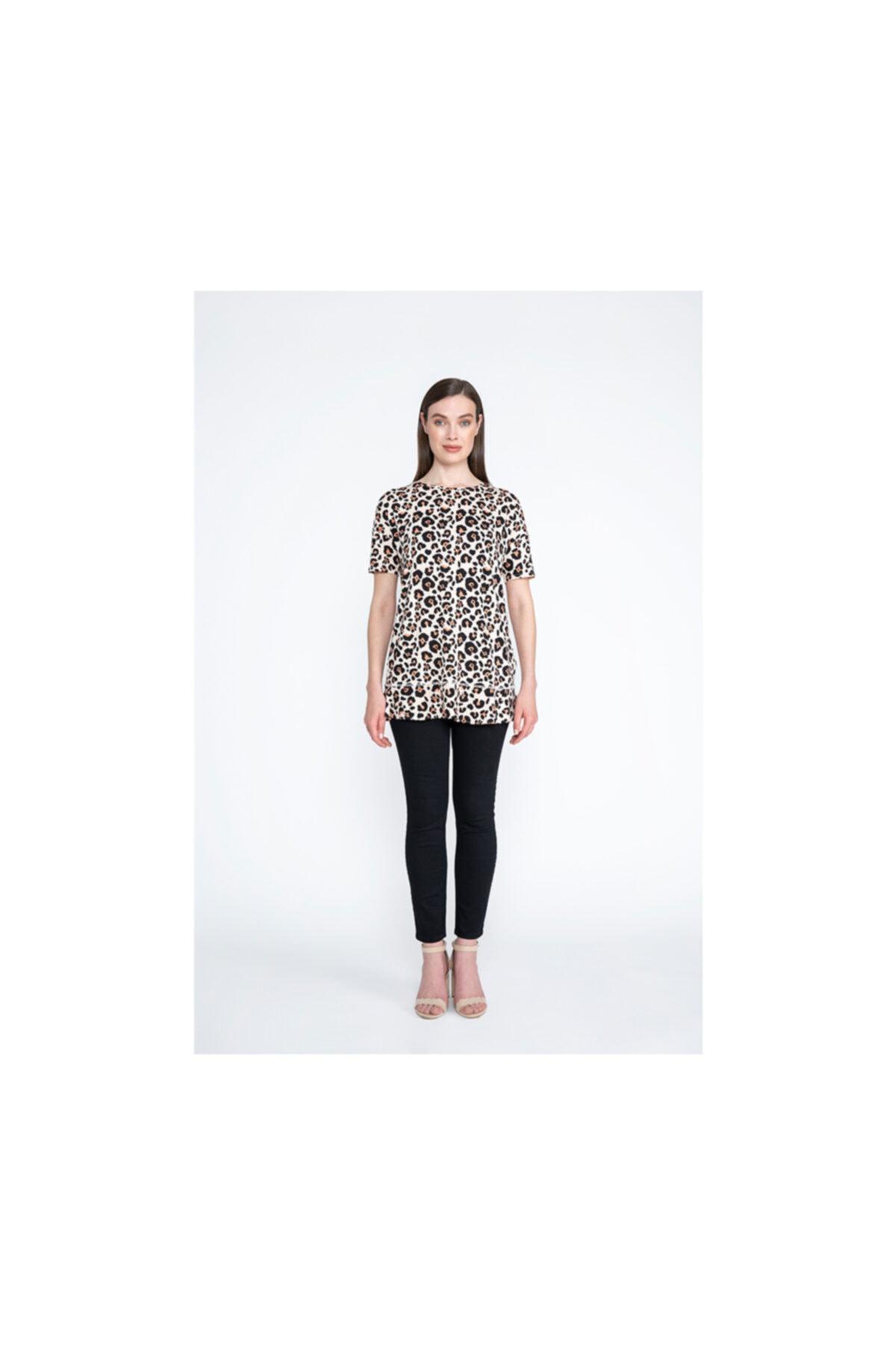 Tchibo Basklılı Desenli Bluz 114105 2