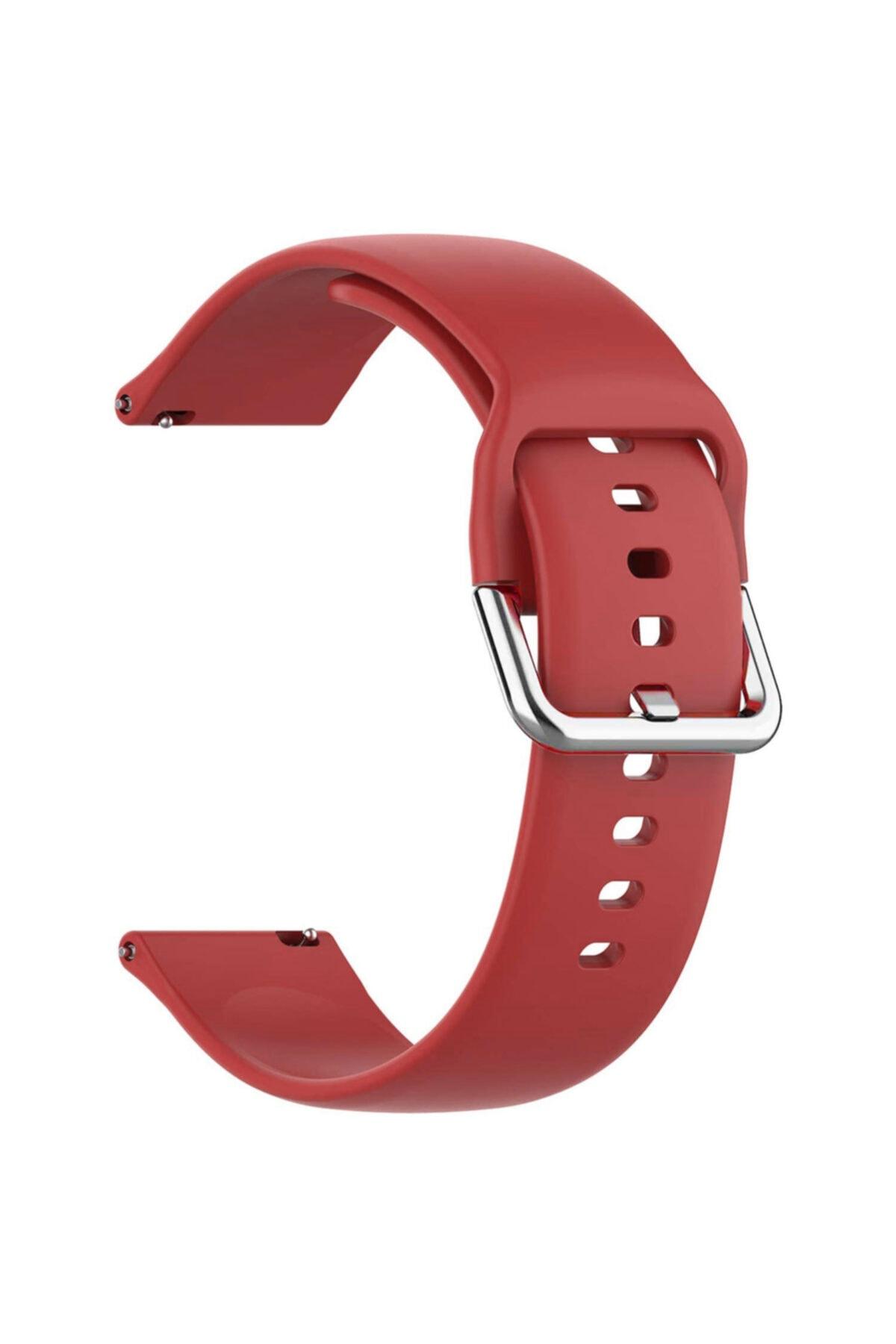Microsonic Huawei Watch Gt 2e Silikon Kordon Kırmızı 1