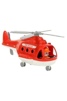 Polesie Oyuncak 72382 Itfaiye Helikopteri Tekerlekli 30 Cm