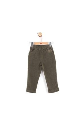 NK Kız Çocuk Haki Beli Lastikli Kışlık Ekin Pantolon