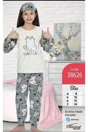 Fancy Çocuk Polar Pijama Takımı Kız Çocuk