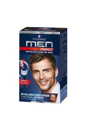 SCHWARZKOPF HAIR MASCARA Men Boya Schwarzkopf Perfect 70 Numara