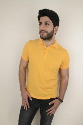 Mcr Polo Yaka Slim Fit T-shirt 36523 Düz Renk