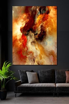 Hediyeler Kapında 90x130 Su Ve Ateş Kanvas Duvar Tablo