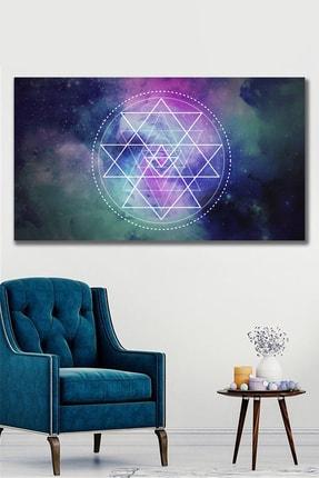 Hediyeler Kapında Gökyüzü Ve Astroloji Kanvas Tablo 70x100 cm