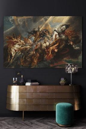 Hediyeler Kapında 90x130 Mitolojinin Gücü Kanvas Duvar Tablo