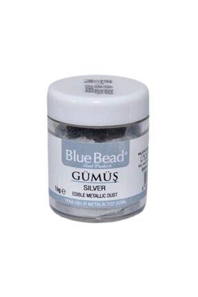 Blue Bead 10 gr Gümüş Yenilebilir Sim Boya