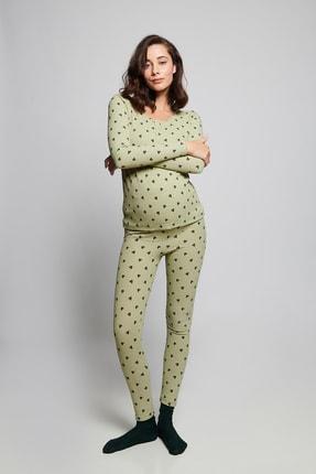 LYN MAMA Hamile Lilian Pijama Takımı -