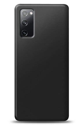 MobilCadde Samsung Galaxy S20 Fe Siyah Mat Silikon Kılıf