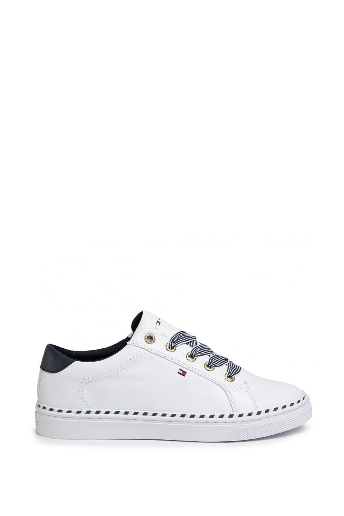 Tommy Hilfiger Kadın Beyaz Sneaker Fw0fw04689 2