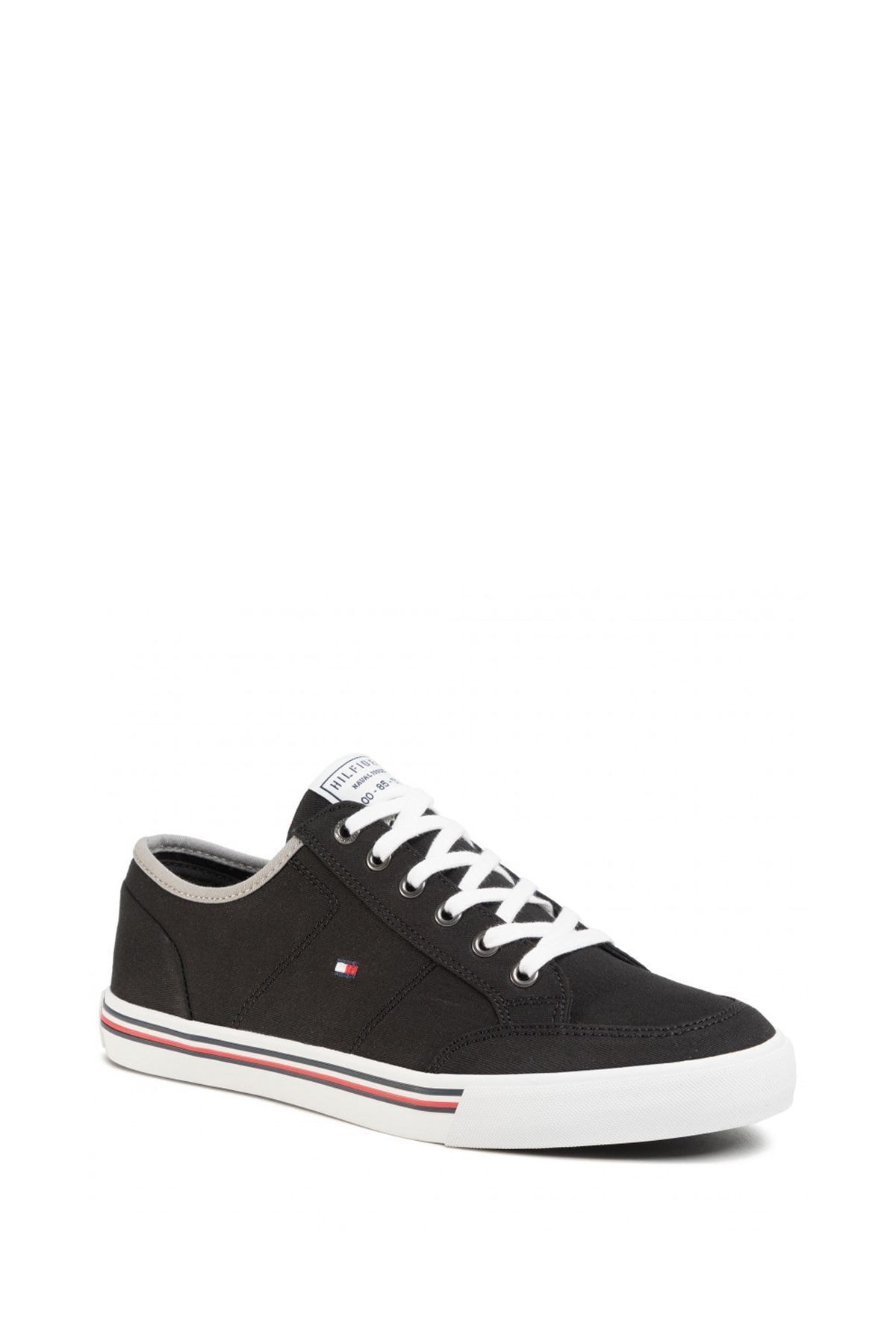 Tommy Hilfiger Erkek Core Corporate Textile Sneaker Erkek Ayakkabı Fm0fm02676 1