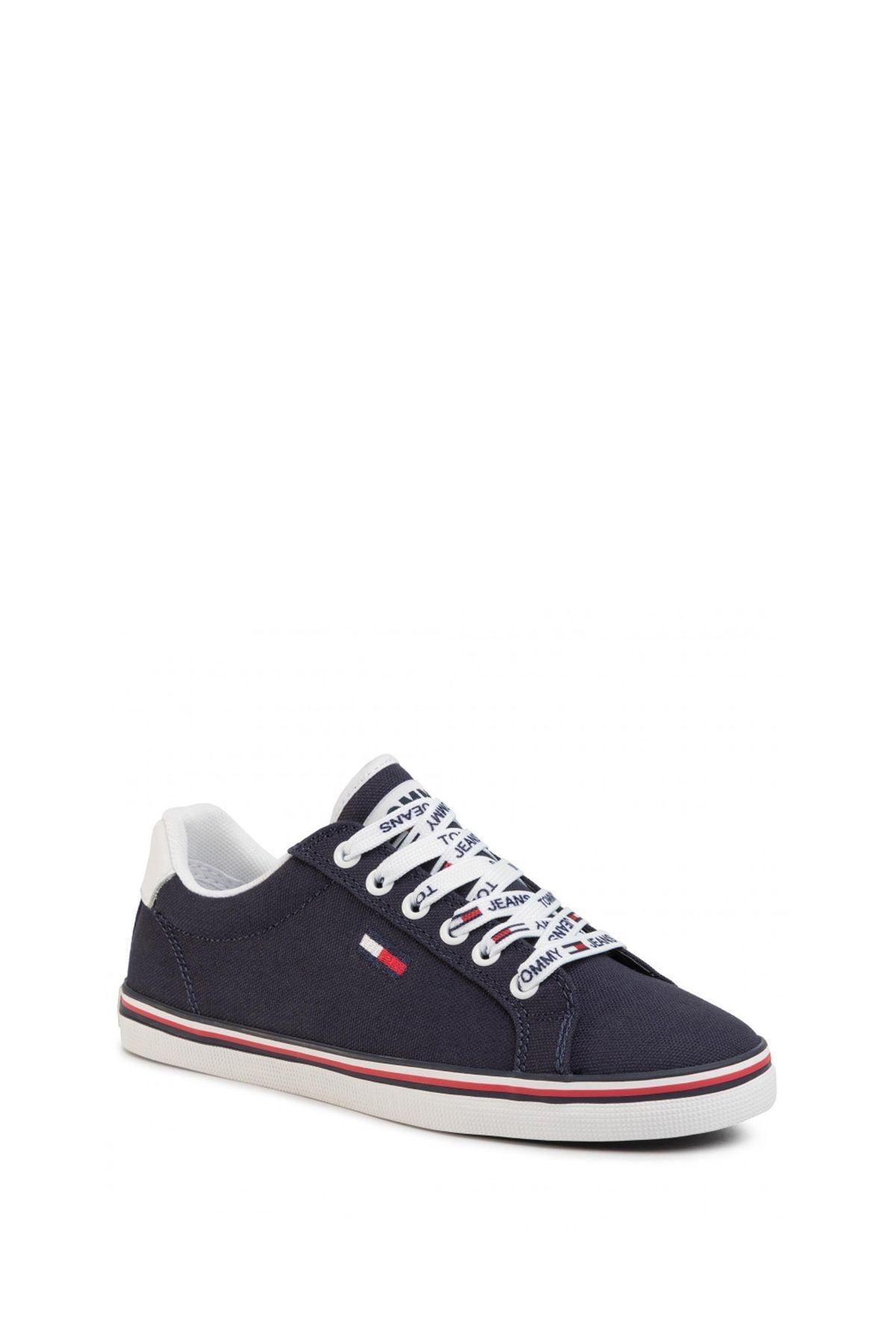 Tommy Hilfiger Kadın Essential Lace Up Sneaker Kadın Ayakkabı En0en00786 1