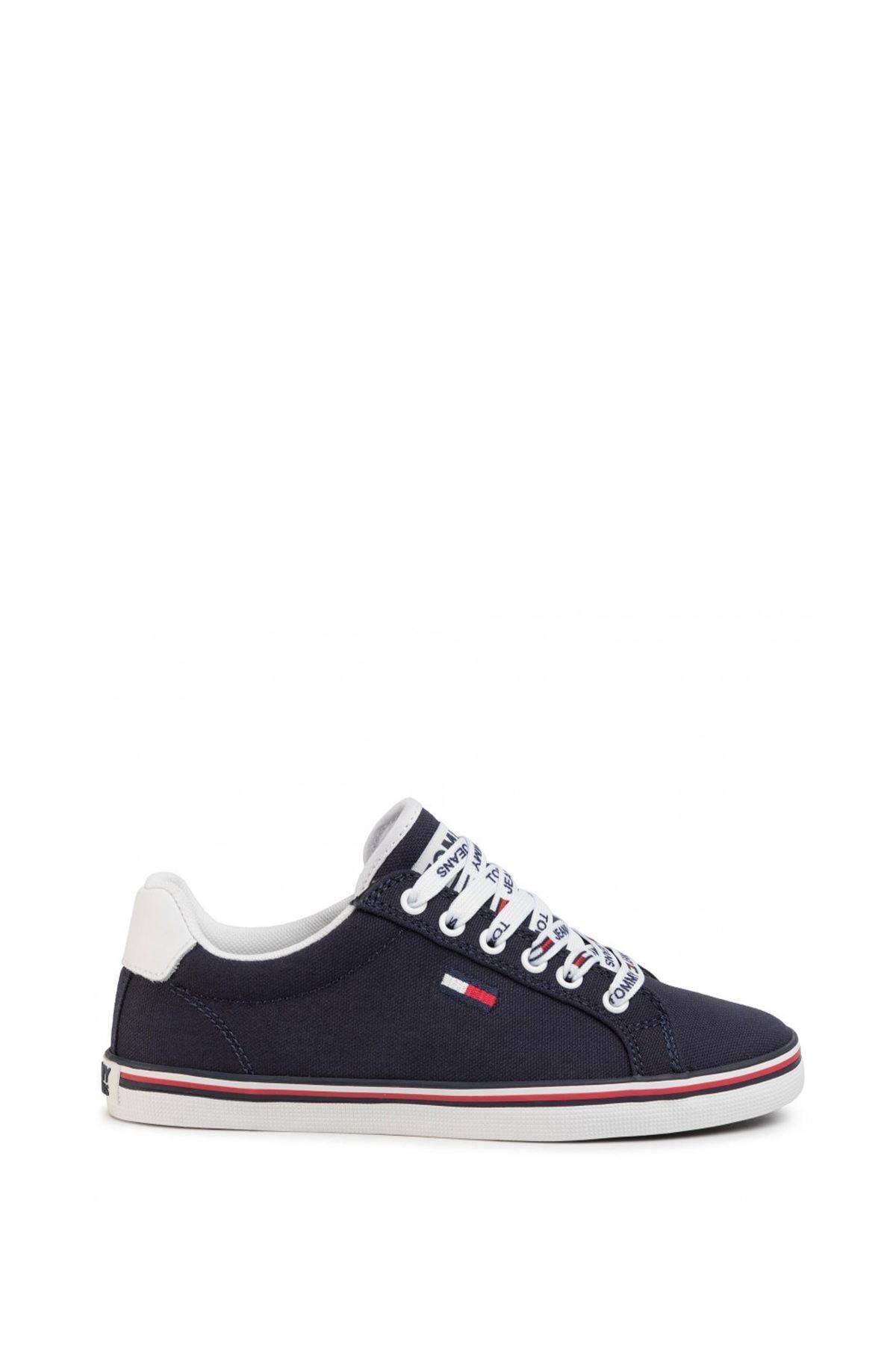 Tommy Hilfiger Kadın Essential Lace Up Sneaker Kadın Ayakkabı En0en00786 2