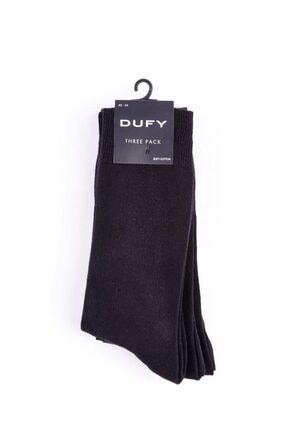 Dufy Erkek Siyah Çorap