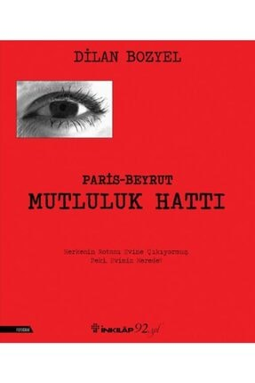 İnkılap Kitabevi Paris Beyrut Mutluluk Hattı