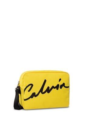 Calvin Klein Kadın Sarı Sport Çapraz Askılı Çanta K60k606593
