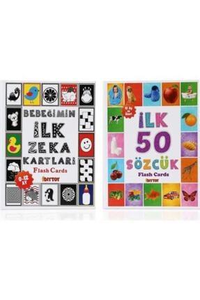 DIY Toys Flash Cards Ilk 50 Sözcük + Bebeğimin Ilk Zeka Kartları