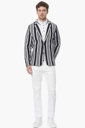 Network Erkek Beyaz Casual Pantolon 1061108