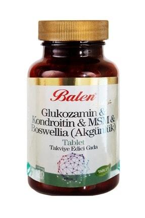 Balen Glukozamin Kondroitin msm boswelia 1200 mg 120 Tablet