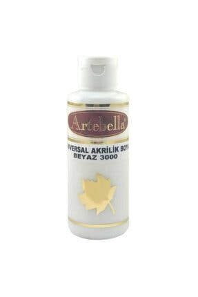 Artebella 30000130 Akrilik Boya 130cc Beyaz