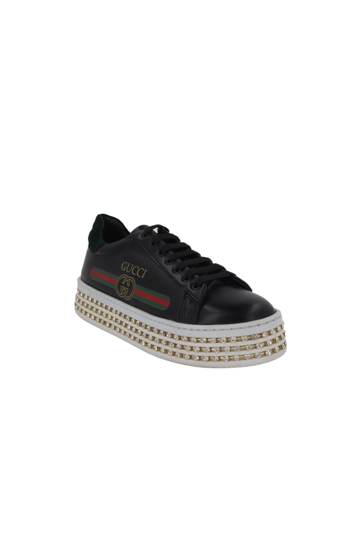 Hobby Prins Siyah Kadın Spor Ayakkabı 85 2