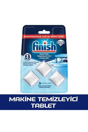 Finish Bulaşık Makinesi Temizleyici 3'lü Tablet