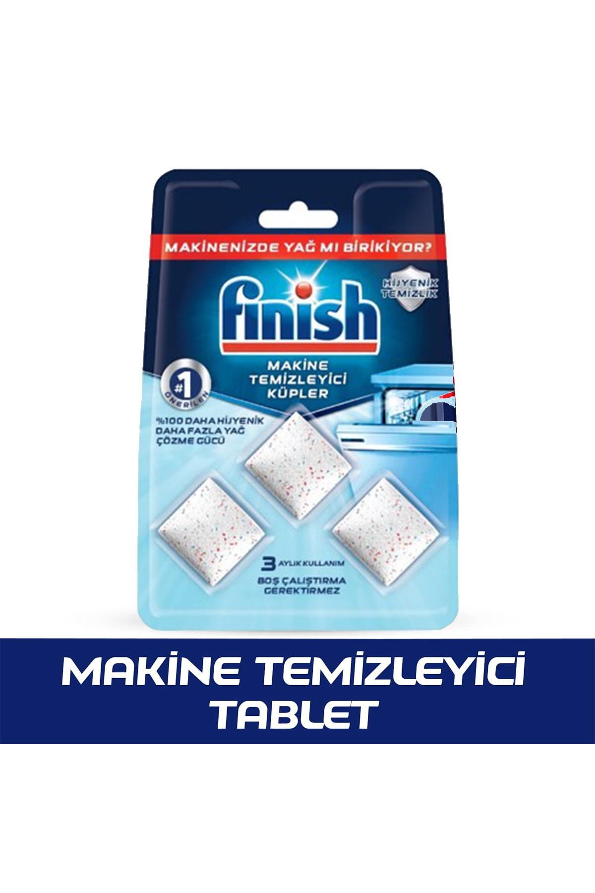 Finish Bulaşık Makinesi Temizleyici 3'lü Tablet 1