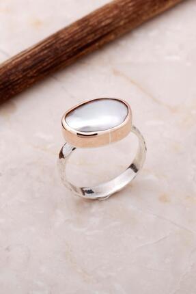 Sümer Telkari Inci Elişi Tasarım Trend Gümüş Yüzük 3053
