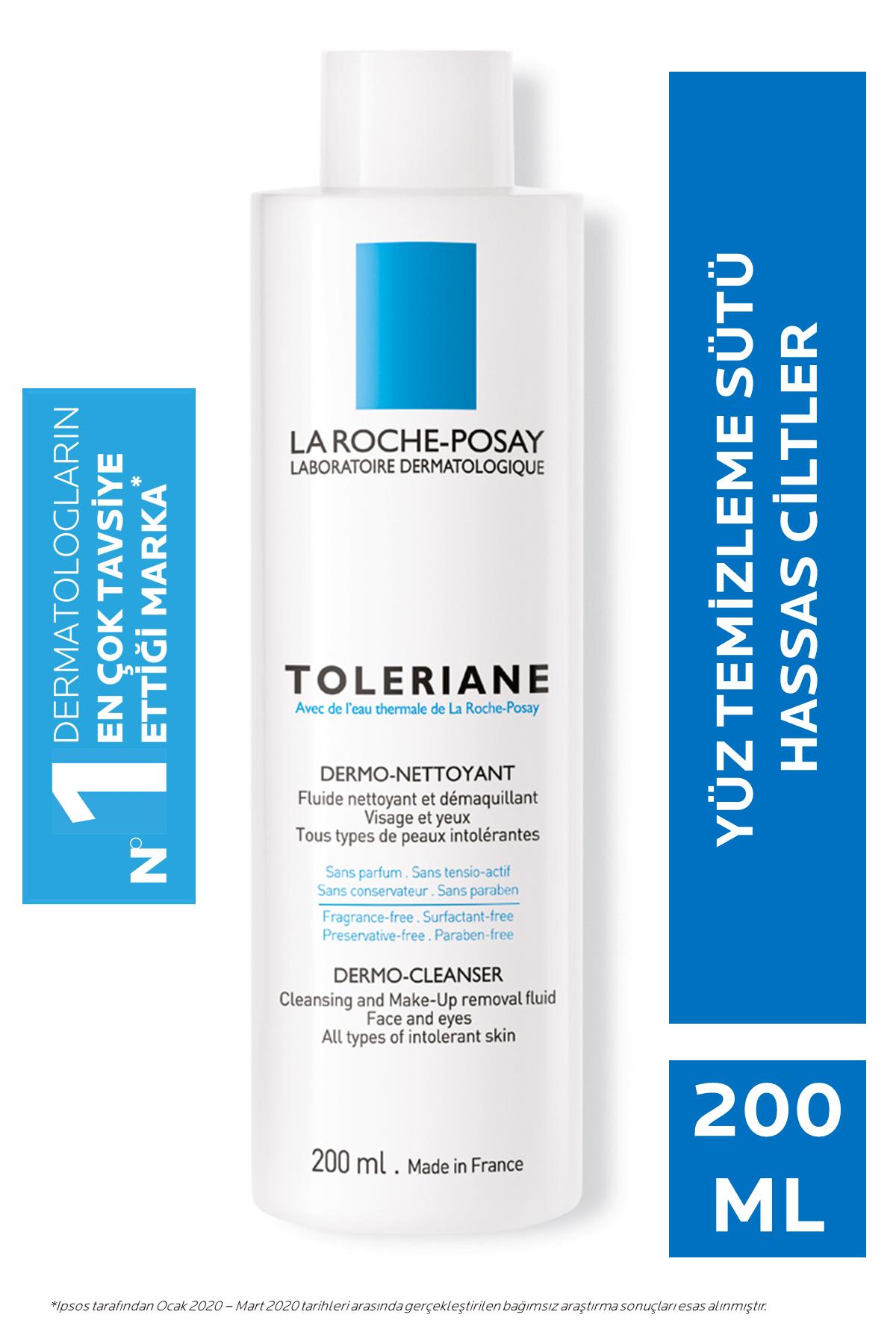 La Roche Posay Toleriane Dermo Nettoyant Temizleme Sütü Ultra Hassas Ciltler 200 ml 3433422406599
