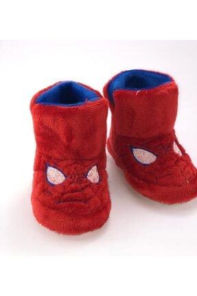 EKOFARK Erkek Çocuk Kırmızı Örümcek Adam Desenli Ev Botu