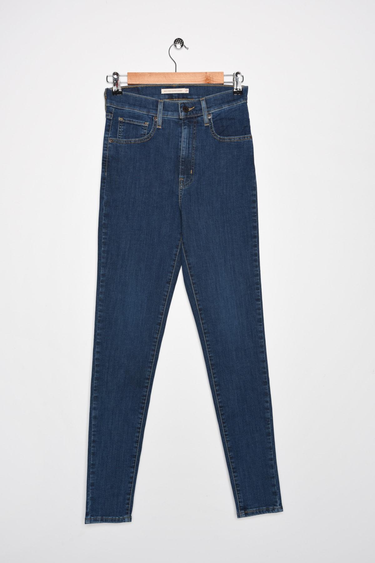 Levi's Kadın High Rise Super Skinny Jeans 22791-0164 1