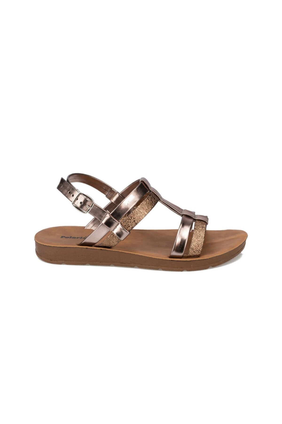 Polaris 91.313612DZ Altın Kadın Sandalet 100375645 2