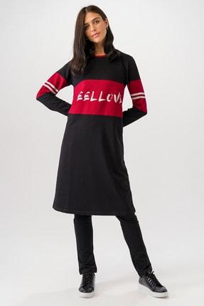 Runever Kadın Siyah Tunik Takım 19580